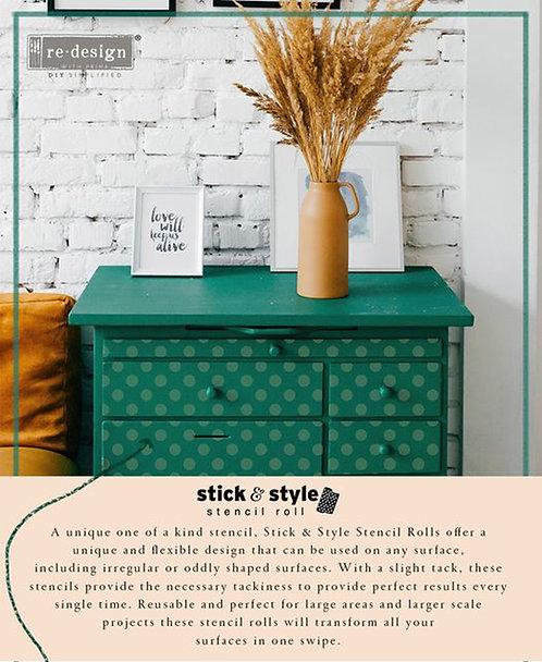 NEW  Prima Stick & Style Stencil Rolls- multi Designs