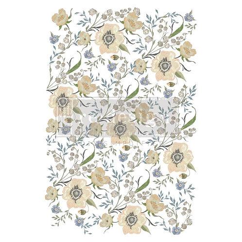 Goldenrod Florals - Prima Transfer