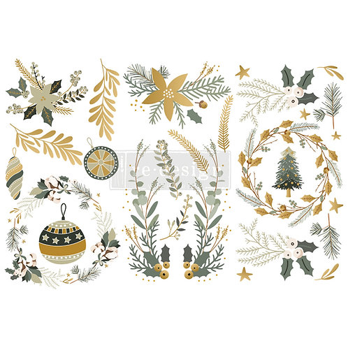 Holiday Spirit-     Prima Mini Transfer