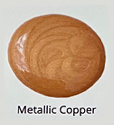 Metallic Copper - Glaze