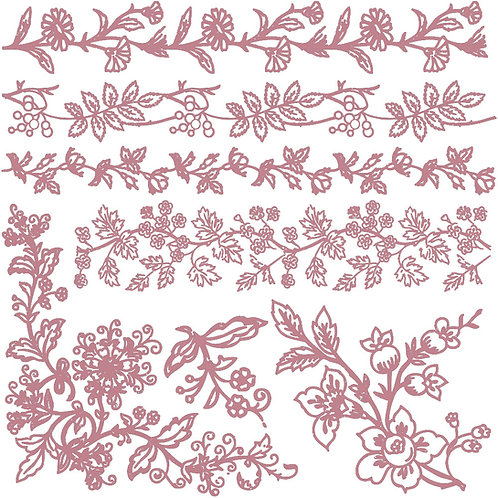Bold Branches - Prima Clear Cling Stamp