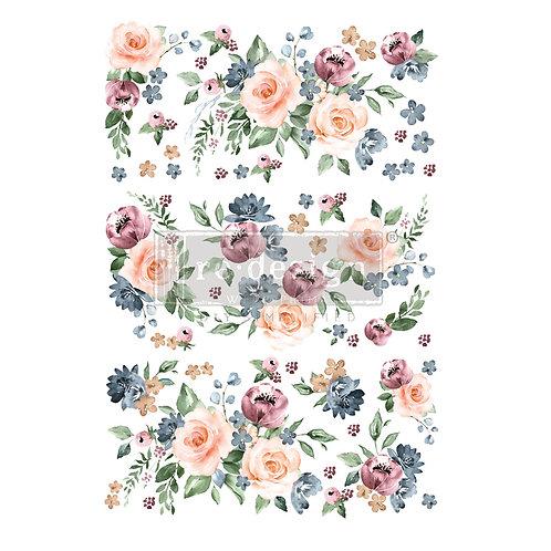 Watercolor Bloom - Prima Transfer