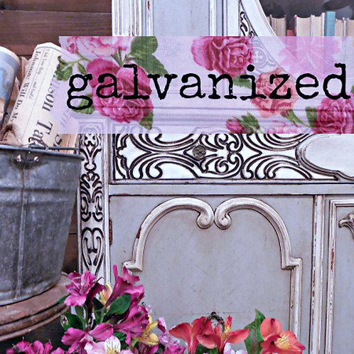 Galvanized- Milk Paint