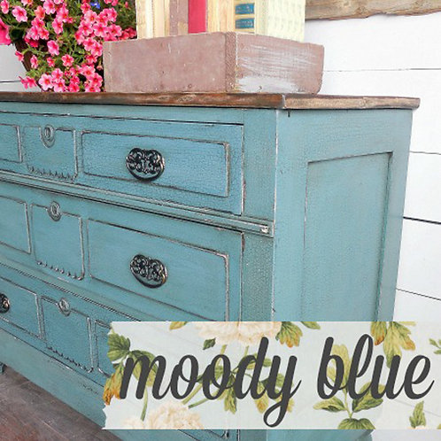 Moody Blue- Milk Paint
