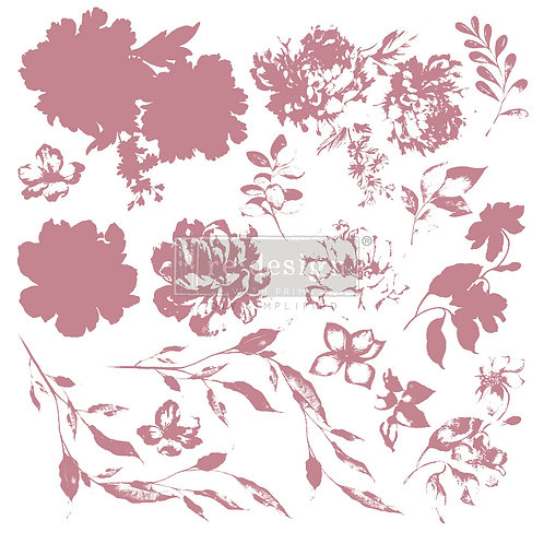Sweet Blossoms - Prima Clear Cling Stamp