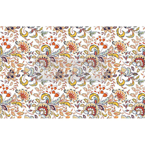 Tangerine Spring  - Prima Mulberry Paper