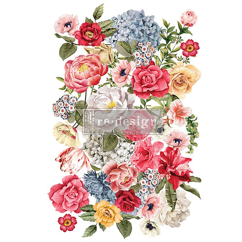Wondrous Floral II   -Prima Transfer