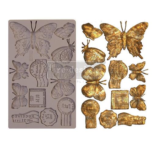Butterfly in Flight ~ Prima Mold