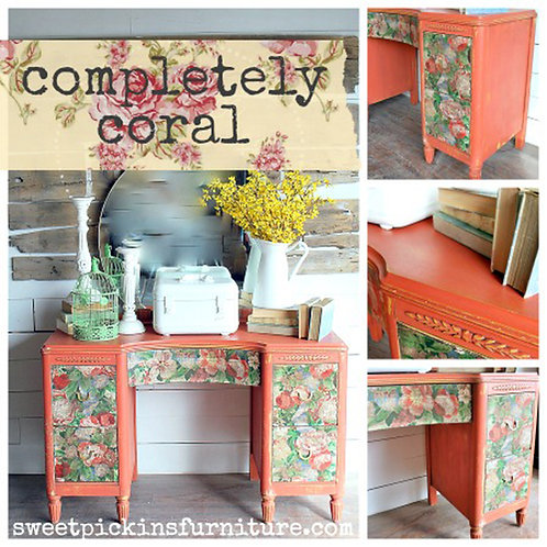 Completely Coral- Milk Paint