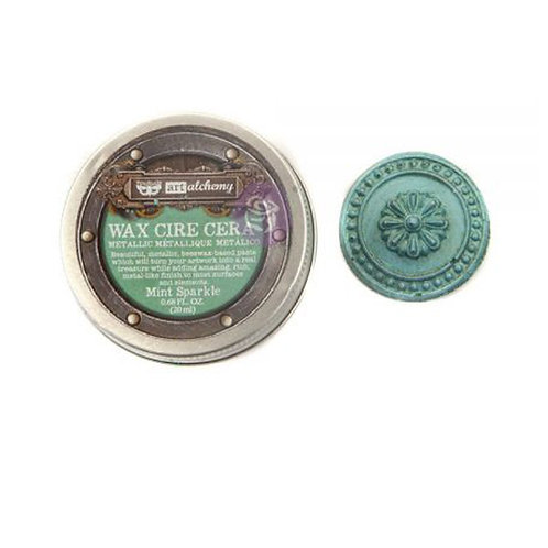 Metallique Wax- Mint Sparkle