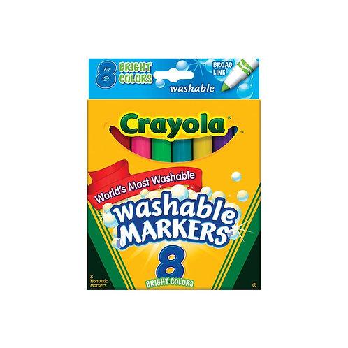 Bright Color Washable Markers- Crayola