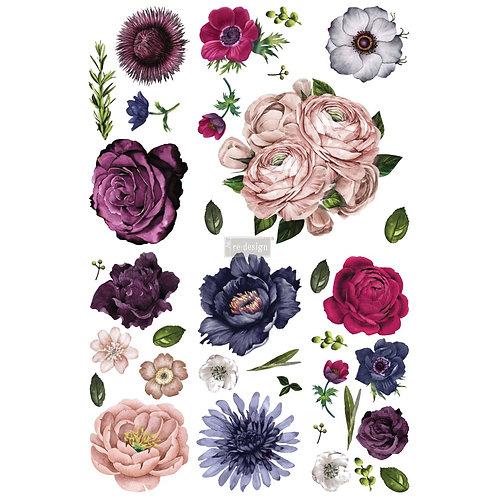 Lush Floral II  -Prima Transfer