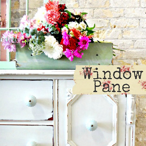 Window Pane- Milk Paint