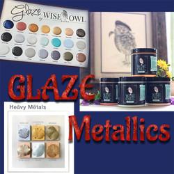 Glaze & Metallics