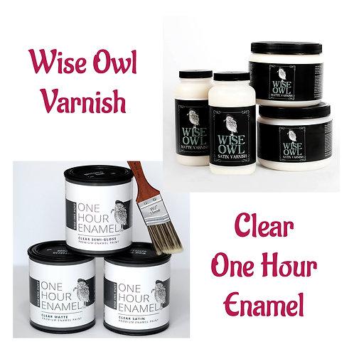 Wise Owl Varnish Options