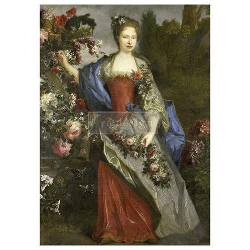 Royal Garden  - Prima A1 Mulberry Paper