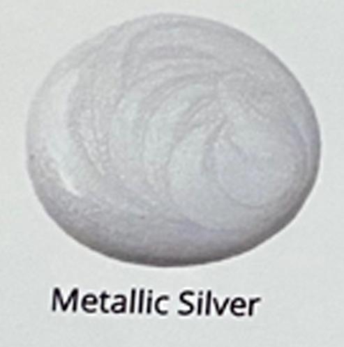 Metallic Silver - Glaze