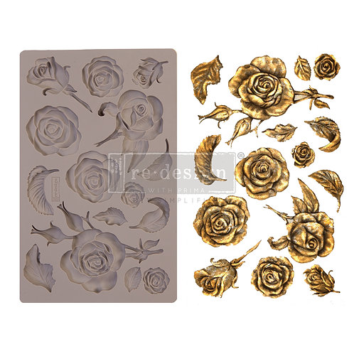 Fragrant Roses ~ Prima Mold