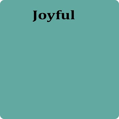 Joyful  -Chalk Synth Paint