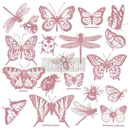Monarch Collection - Prima Clear Cling Stamp