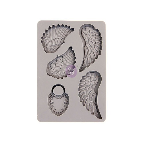 Wing & Locket ~ Prima Mold
