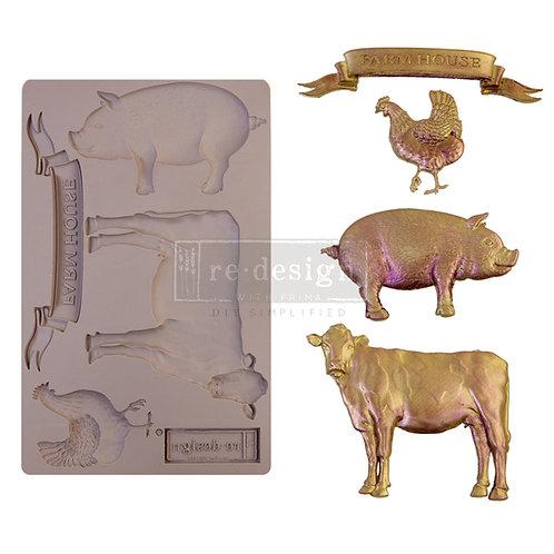Farm Animals~ Prima Mold