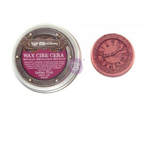 Metallique Wax- Indian Pink