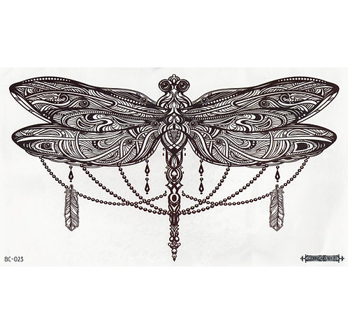 Jeweled Dragonfly-     Mini Transfer