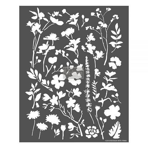 Modern Flora  - Prima 3D Stencil