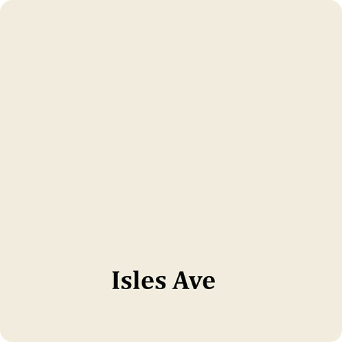 Isles Ave  -Chalk Synth Paint