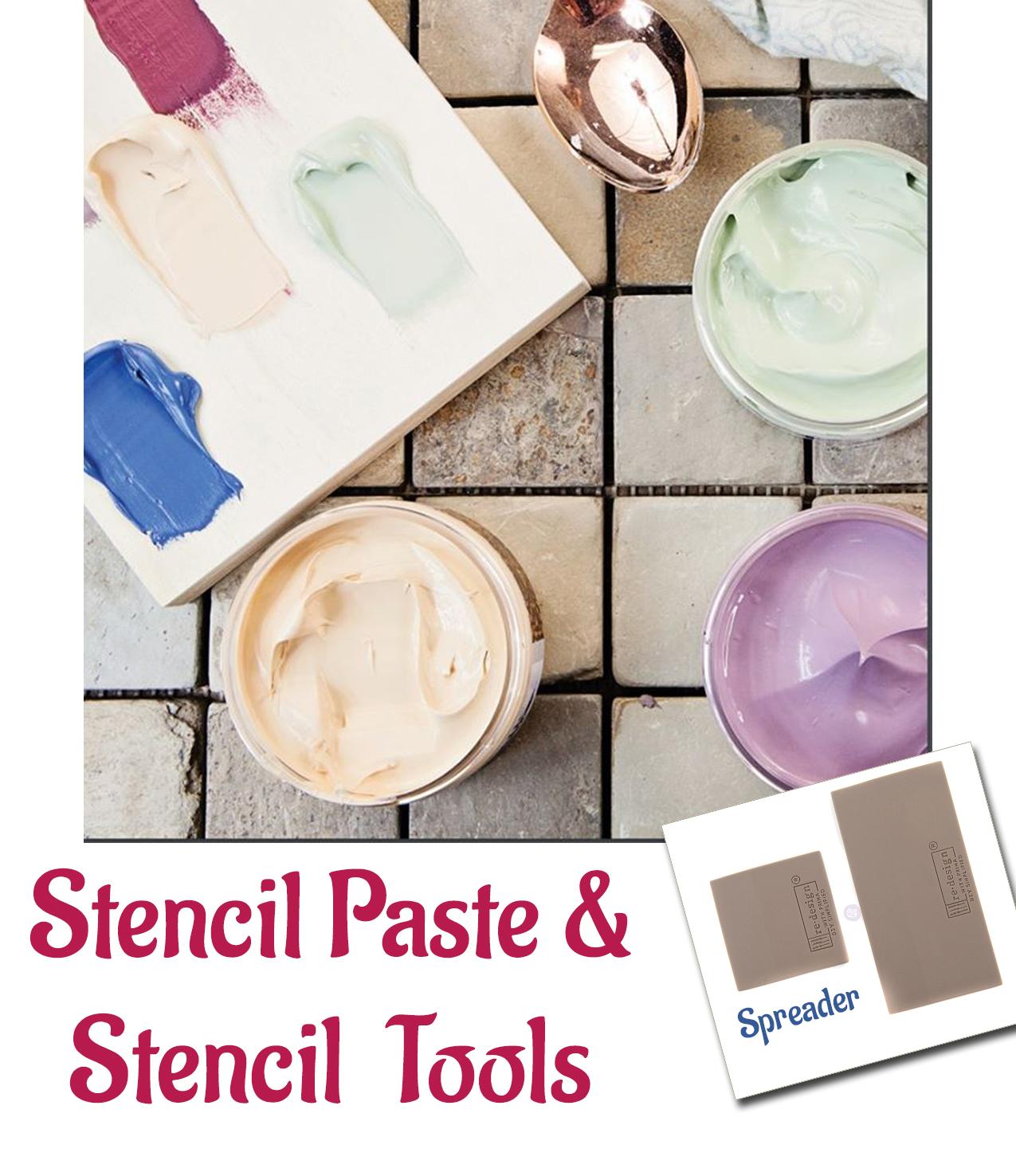 Stencil Paste & Tools