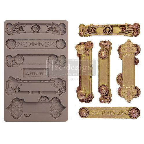 Steampunk Plates ~ Prima Mold