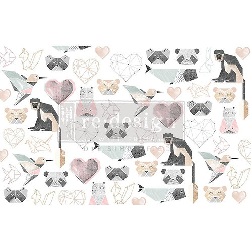 Origami Love  - Prima Mulberry Paper
