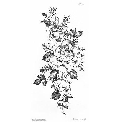 Black Rose-     Mini Transfer