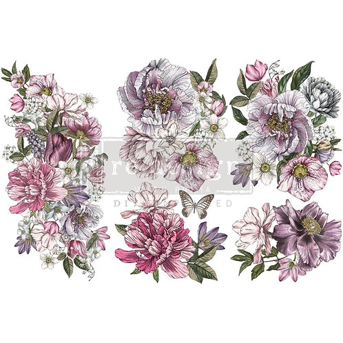 Dreamy Floral-     Prima Mini Transfer