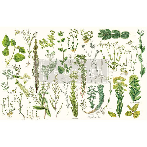 Greenery  - Prima Mulberry Paper