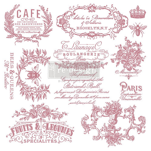 See Paris - Prima Clear Cling Stamp