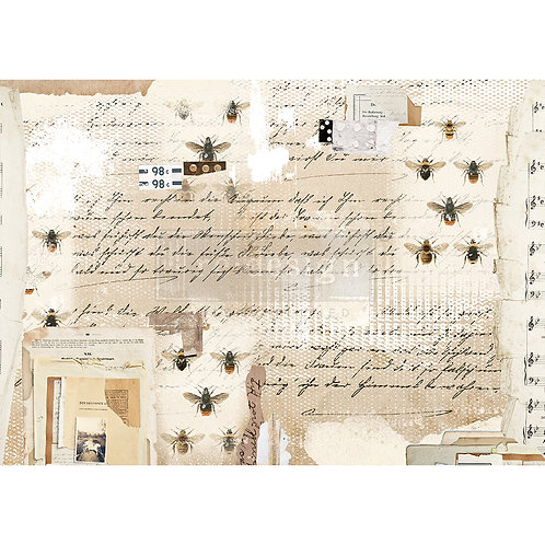 Mysterious Notes  - Prima Rice Paper