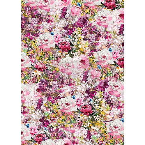 Fuchsia Meadow  - Prima Rice Paper