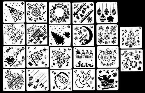 Christmas Pack - Stencil