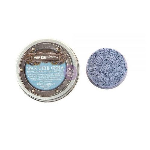 Metallique Wax- Blue Lagoon