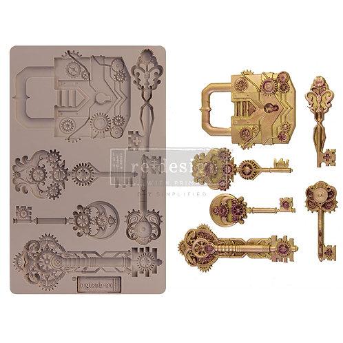 Mechanical Lock & Keys ~ Prima Mold