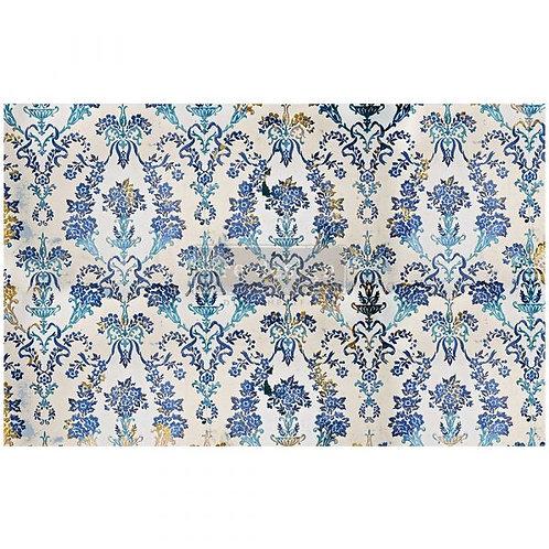 Cobalt Flourish  - Prima Mulberry Paper