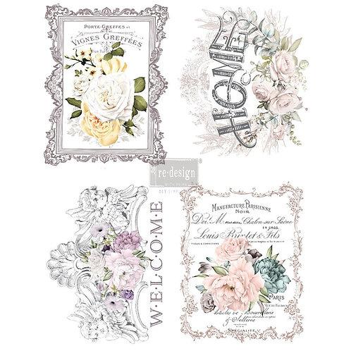Floral Home  -Prima Transfer