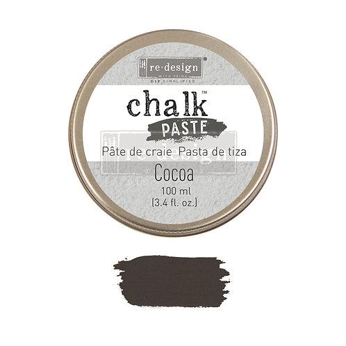 Cocoa  -Chalk Paste
