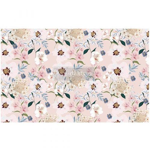 Blush Floral  - Prima Mulberry Paper