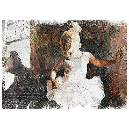 Dancer  - Prima A1 Mulberry Paper