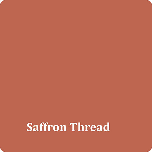 Saffron Thread  -Chalk Synth Paint