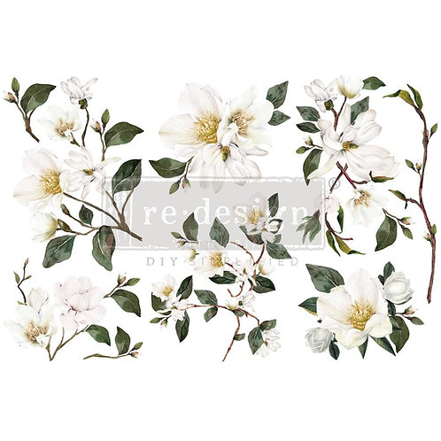 White Magnolia-     Prima Mini Transfer