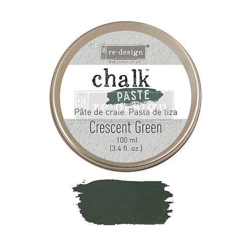 Crescent Green  -Chalk Paste